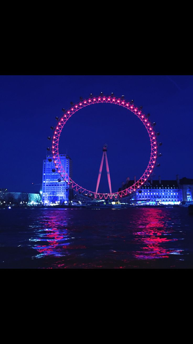 A spectacular photo of the London Eye