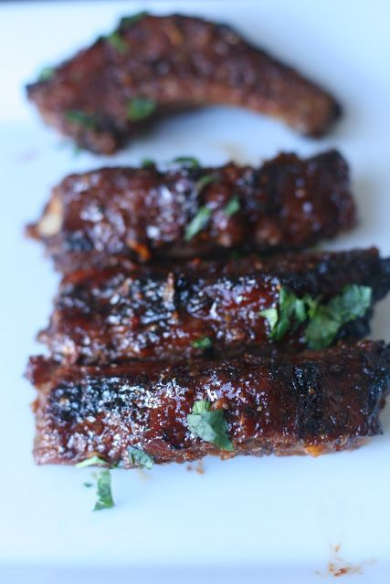 Korean Roasted Pork Ribs, These sound yummy. I'm always afraid to try making ribs since I have friends that make them really well, but I'm ready for a try!