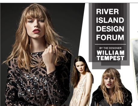 River Island design forum  created by William Tempest