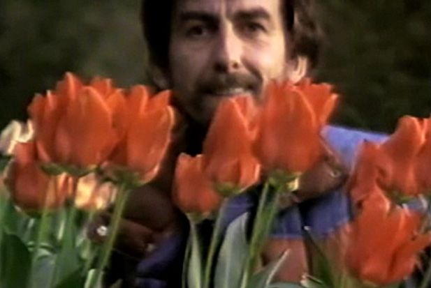 George Harrison...love this video clip from the documentary