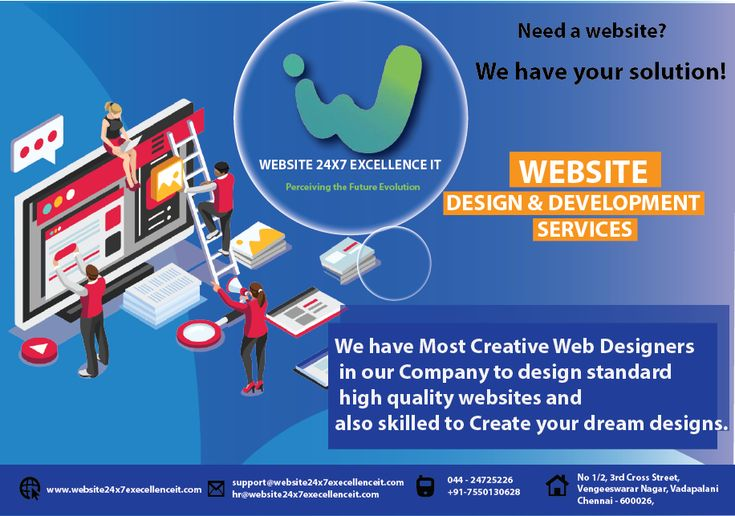 Leading Website Design Company In Chennai We Have Most Creative Web Designers In Our Company To Design Standard Website Design Website Design Company Website