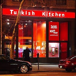 386 3rd ave new york NY Turkish Kitchen best turkish food place in NY シシケバブが激うまらしい。ティラピア(白身魚)の煮込みも日本人好み。