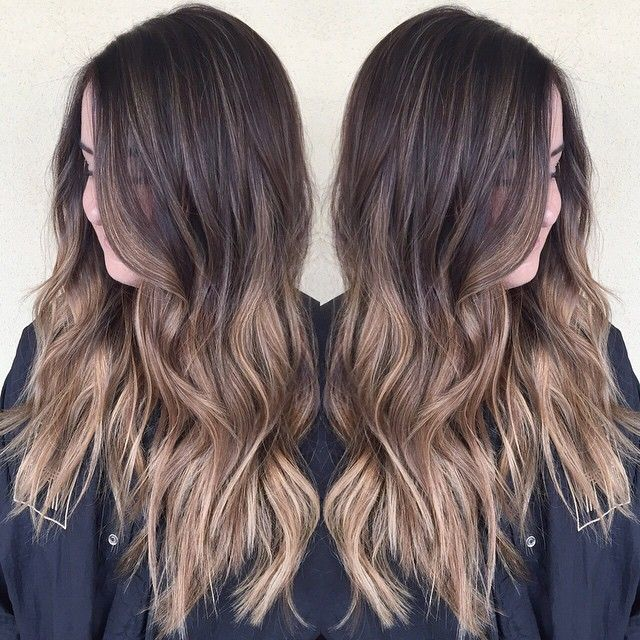Summer sombre ☀️ #balayage #sombre #ombre #babylights #hairpainting #summerhair #beachwaves #prettyhair #sunkissedhair #love