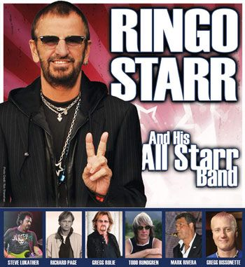 Ringo Starr announced the 2012 All Starr Band, as well as a slew of tour dates. http://www.rocksquare.com/blog/?p=2443