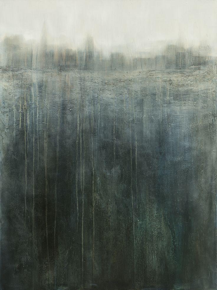 The City, Xanthippe Tsalimi, oil on canvas, 2015