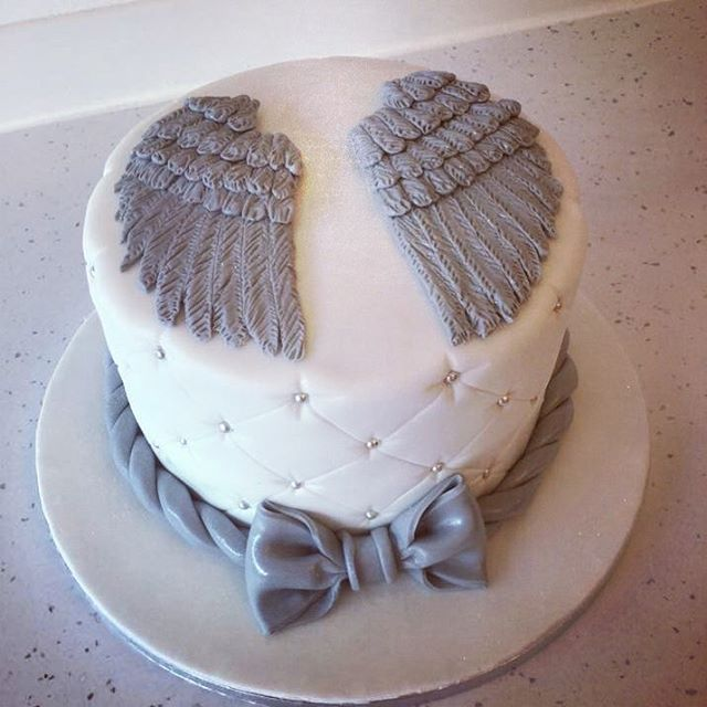 Image Result For Angel Wings Birthday Cake Cake Decorating