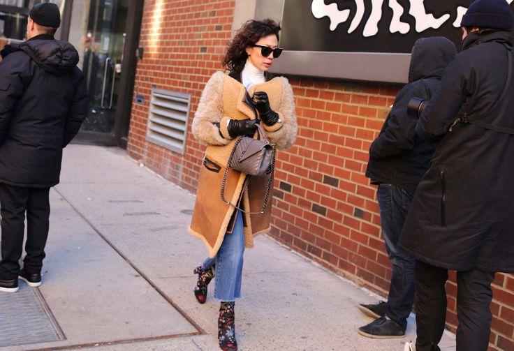 Kim Kollar in Stella McCartney boots