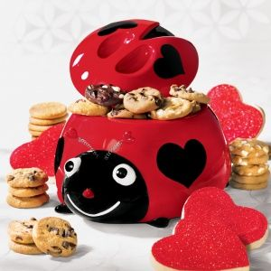 Ladybug Cookie Jar