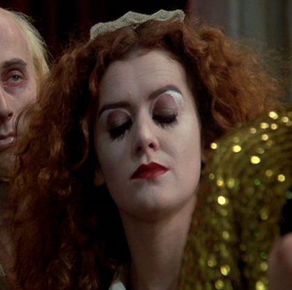 nice screen shot for Magenta makeup #rockyhorror