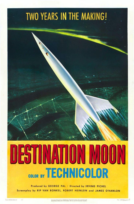 950's sci fi | 1950's Sci-Fi Movie Poster Art