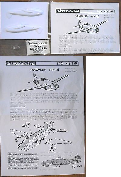 Other Military Aircraft Models 2587 Airmodel Vintage Vacuum Form