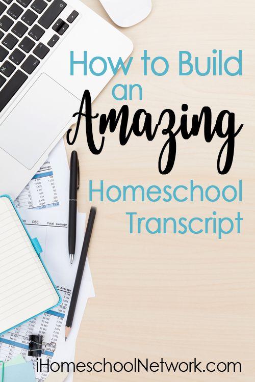 How to Build an Amazing Homeschool Transcript