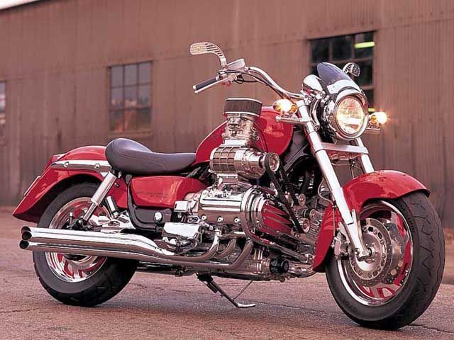 Two Brothers Racing's Double-Supercharged Honda Valkyrie