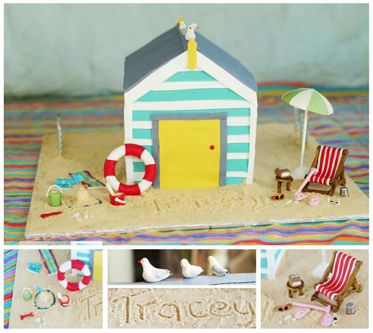 Beach Birthday Cake Photos