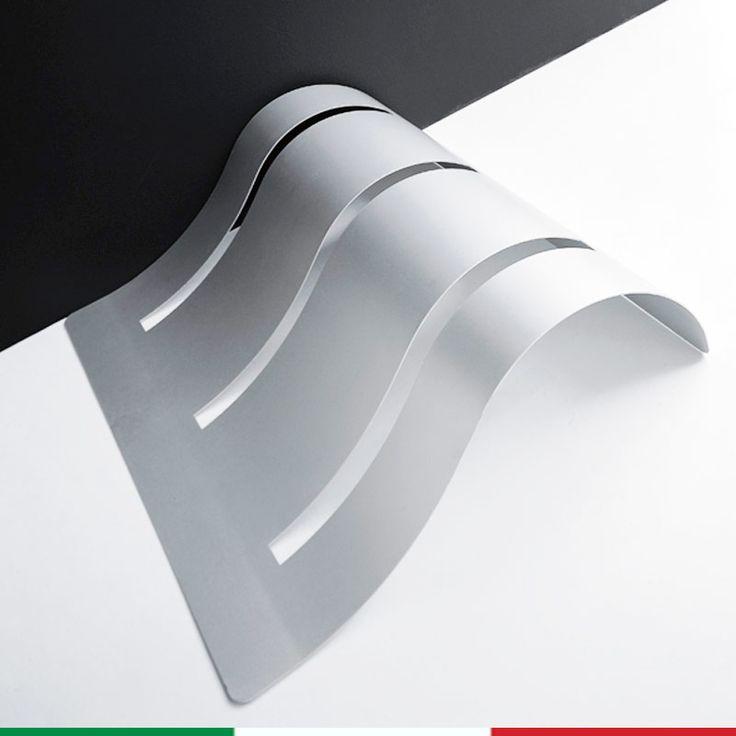 Portabici Bi.Wave 120x100xh 30 cm In Alluminio Anodizzato 3 posti Certificato per Uso Esterno | Graepel spa | Stilcasa.Net: Arredamento da giardino e accessori