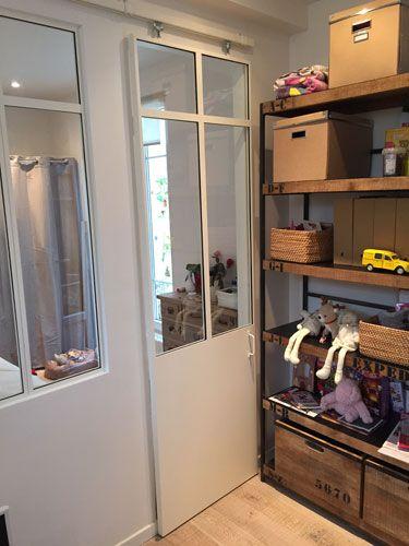 verriere duinterieur cloison vitre ralisations with. Black Bedroom Furniture Sets. Home Design Ideas