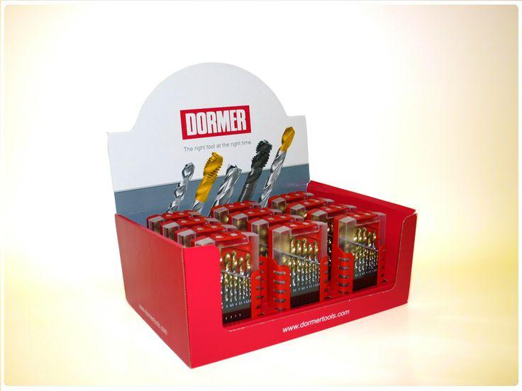 Dormer Tools product display box.
