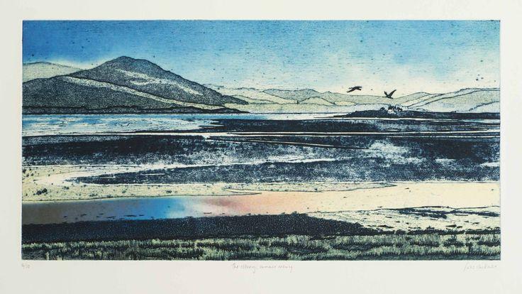 Suzie MacKenzie - The estuary, summer evening