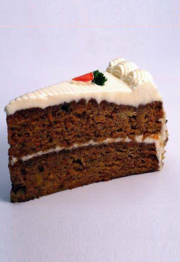 Carrot cake sans gluten, recette de gâteau de carottes sans gluten