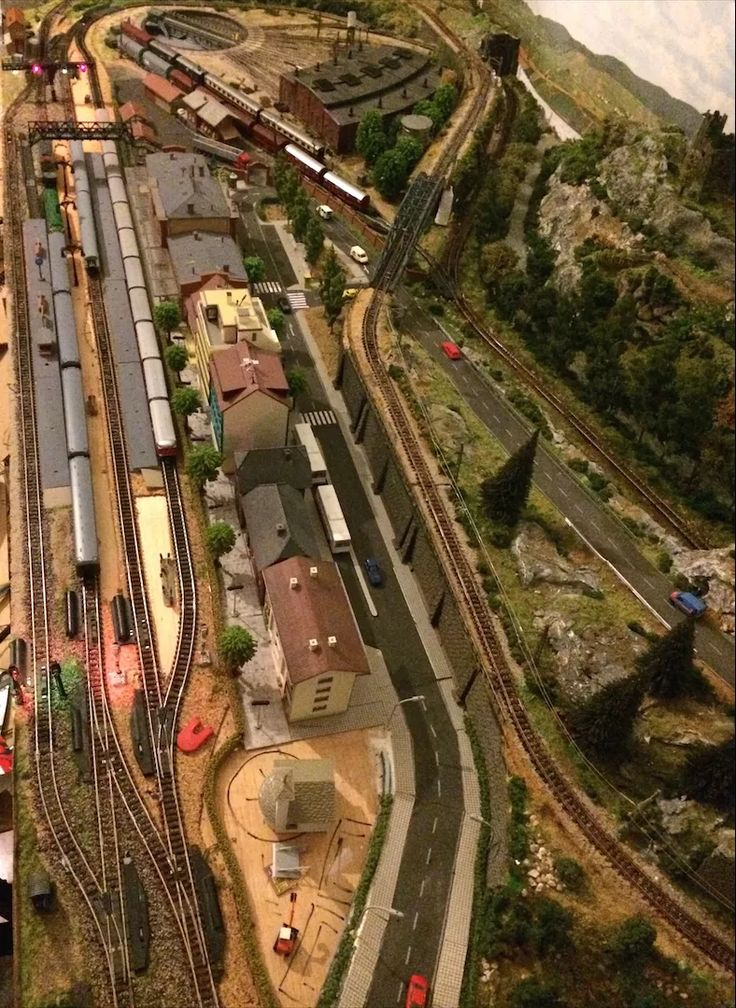 maqueta y diorama tren gohobby