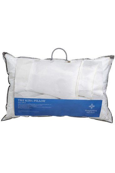 Simply Vera Vera Wang Down Alternative King Size Pillow