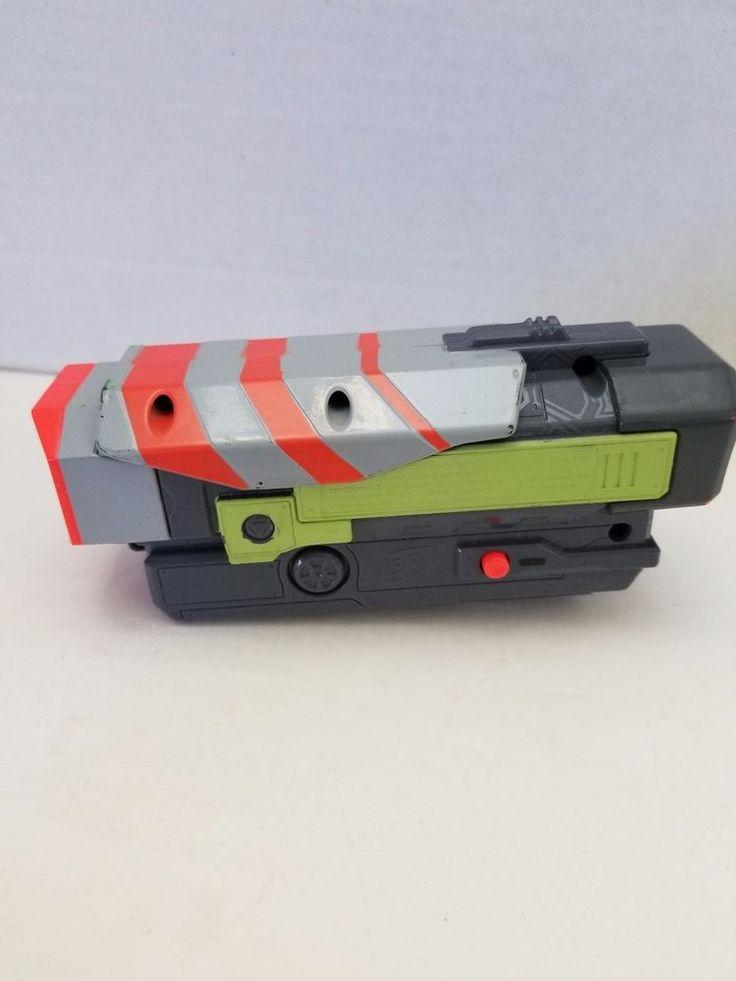 Nerf Vortex Nitron Scope Tactical Green Light Up Sight Tested Works #NERF #Vortex #Nitron