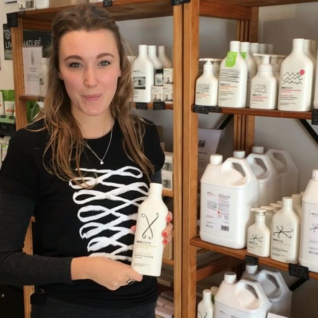 Zoe can't get enough of our coconut & vanilla body wash this #winter! What are your #ecostore favourites? ☺️ #ecoliving #goodstuff #nourish