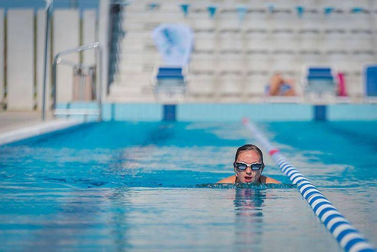 Swimming alone in Olympics pool . . . . #swimming #pool #swim #alone #free #swimmingpool