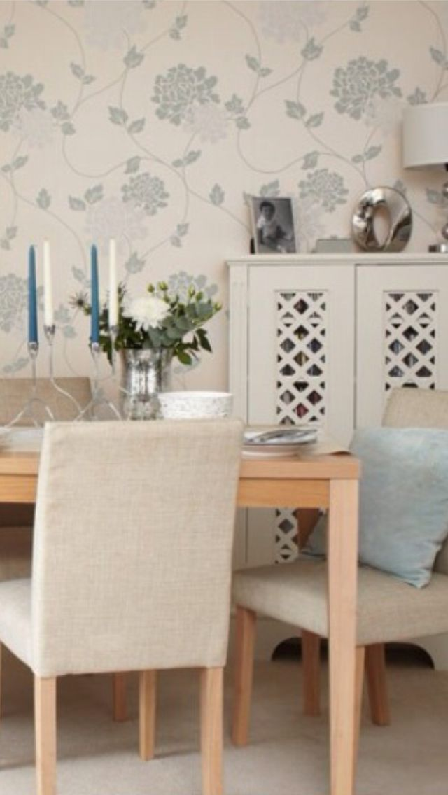 Traditional Dining Laura Ashley Wallpaper