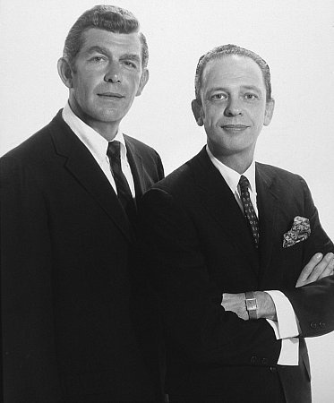 Andy Griffith & Don Knotts  R.I.P. to the best in Mayberry