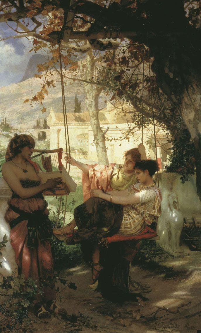 Henryk Siemiradzki - Slave's Song - 1884