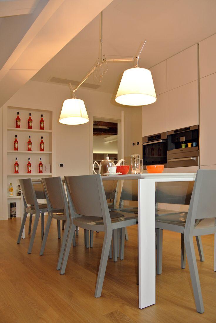 Sala da pranzo #architettura #interni