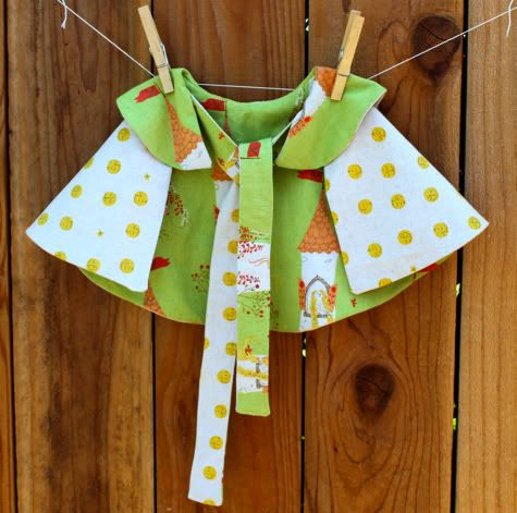 Capelet by Prudent Baby