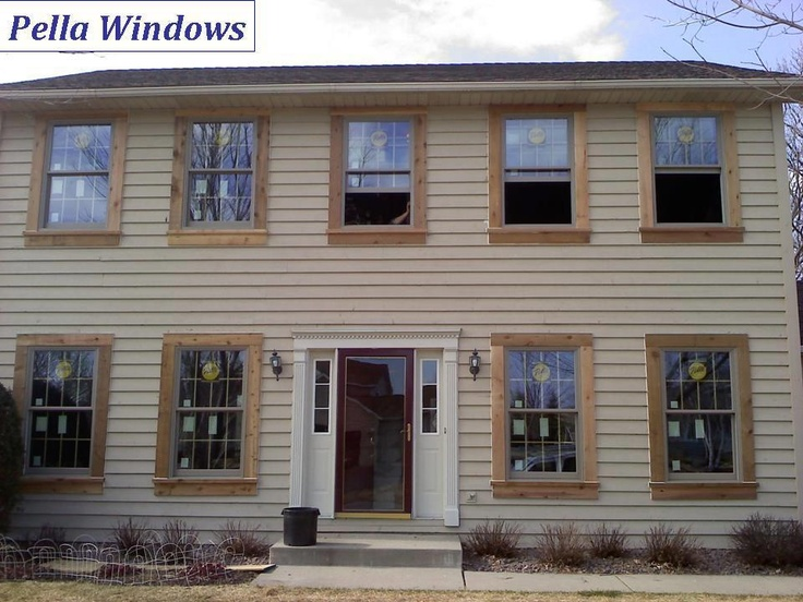 17 best images about pella wood windows on pinterest for Compare new construction windows