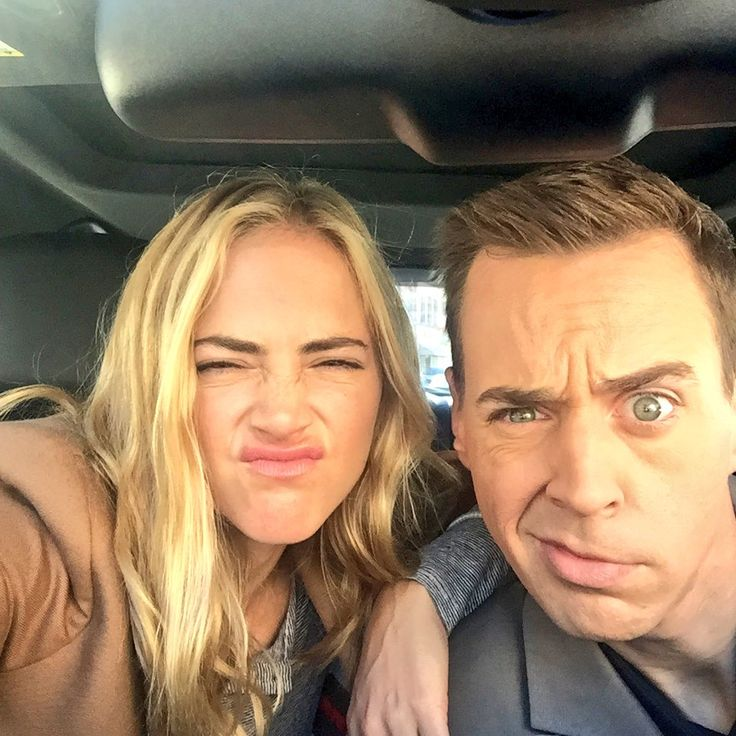 """Seriously serious with Sean Murray."" ~ Emily Wickersham"