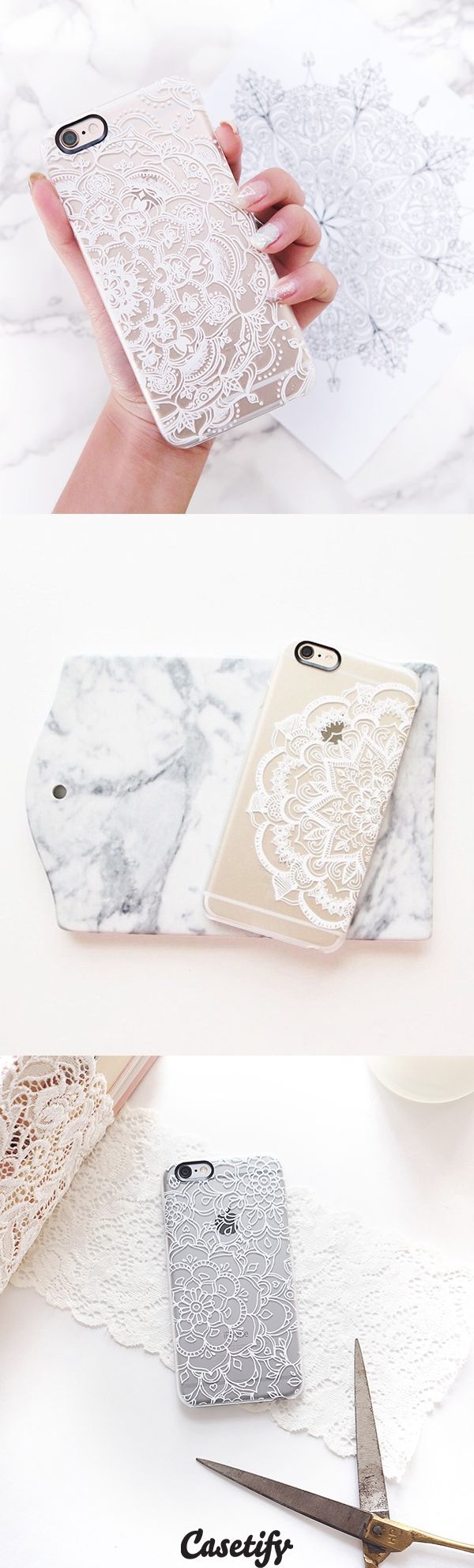 Most favourite mandala lace iPhone 6 protective phone case designs | Click through to see more iPhone phone case idea >>> https://www.casetify.com/collections/iphone-6s-mandala-cases/?device=iphone-6s | @casetify