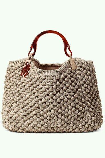Crochet designer bag