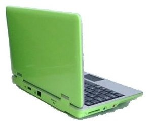 4Gb Green 7 inch Mini Laptop Netbook. Android 2.2. Latest Software. Latest build. by EPC - Computer Mods UK