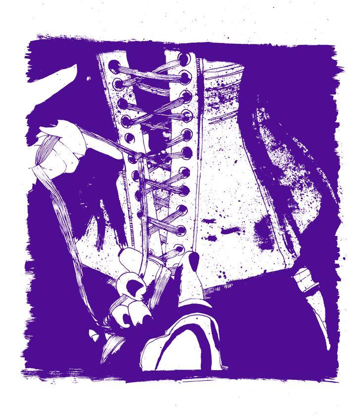 Espartilho, por Raquel Botelho. http://www.vandal.com.br/p/692