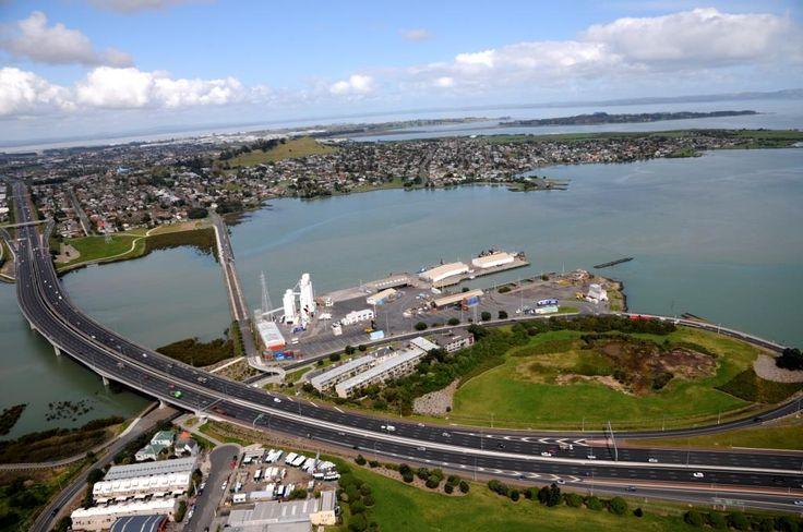 Port of Onehunga, Mangere Bridge, Manukau Harbour, Auckland, New Zealand