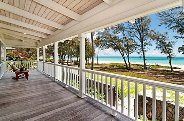 beautiful beachfront hawaiian style home in waimanalo | hawaii