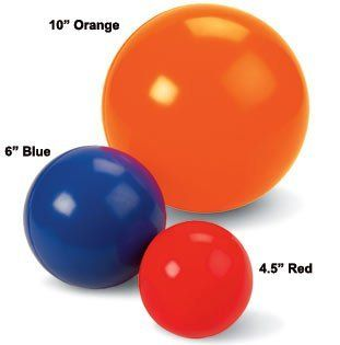 """Best Ball 14"""" diameter Color: Orange by Drs. Foster & Smith. $24.99"""