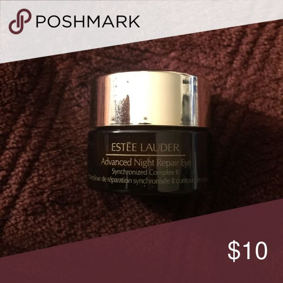 ESTÉE LAUDER ADVANCED NIGHT REPAIR EYE Mini travel sized eye cream  ESTÉE LAUDER ADVANCED NIGHT REPAIR EYE Synchronized Complex II (.17 oz/5ml) Estee Lauder Makeup