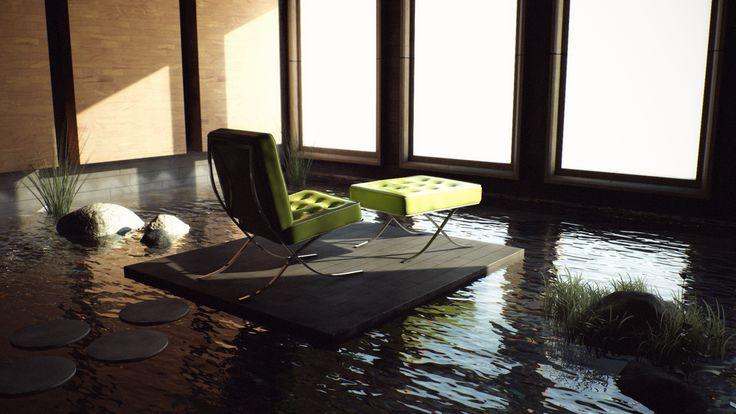 46 best images about zen on pinterest orange living for Living room zen style