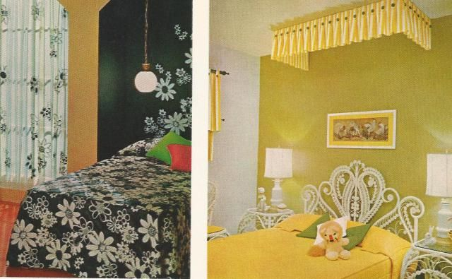 Vintage home decor 1970s headboards ginnie v for Home decor 1970s