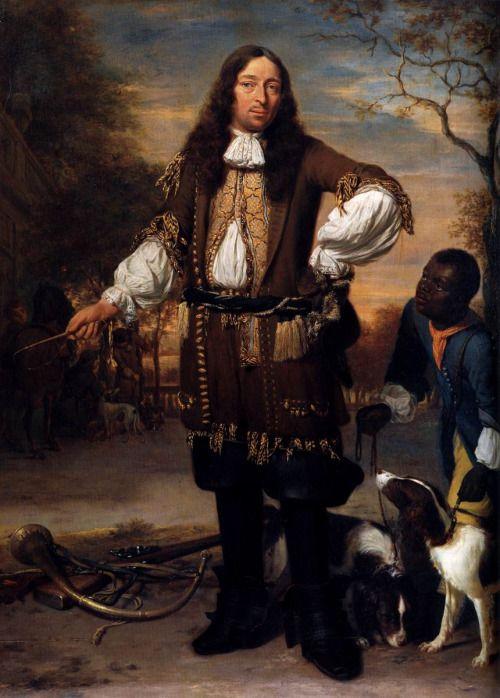 1674 Jan Verkolje - Portrait of Johan de la Faille