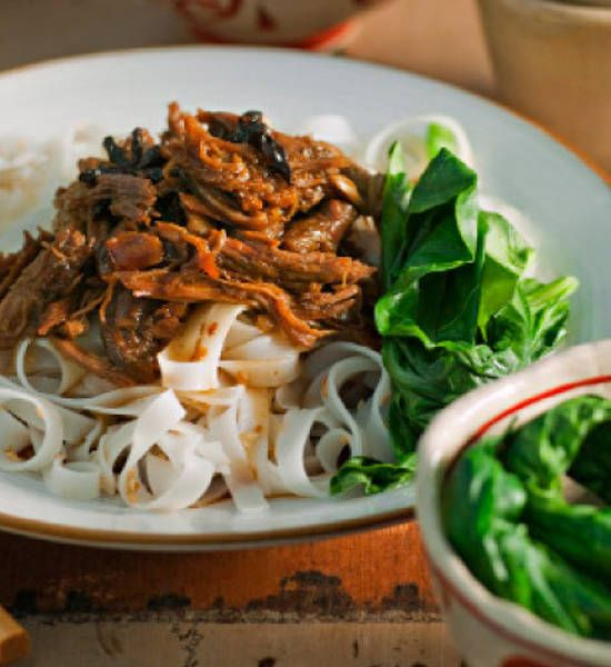 Slow Cooked Asian Lamb