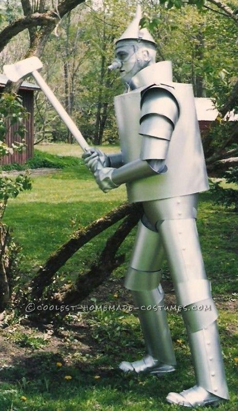 Challenging Tin Man Costume ... This website is the Pinterest of costumes