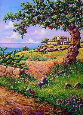 vetrina d'autore,pittori italiani, dipinti in vendita, olio su tela, quadri di paesaggi, dipinti, pittori paesaggisti,
