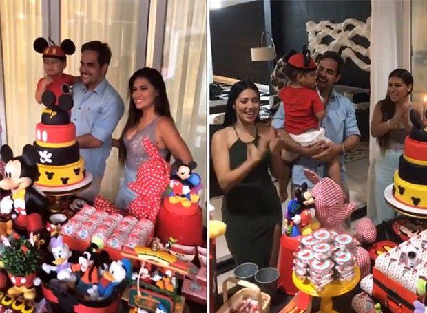 Simone celebra aniversário do filho com a irmã Simaria e outros famosos (Foto: Reprodução/Instagram)